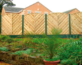 PVC Decking, Fence Posts and Gravel Boards